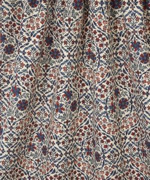 Petronella Chintz Cotton Linen in Jewel