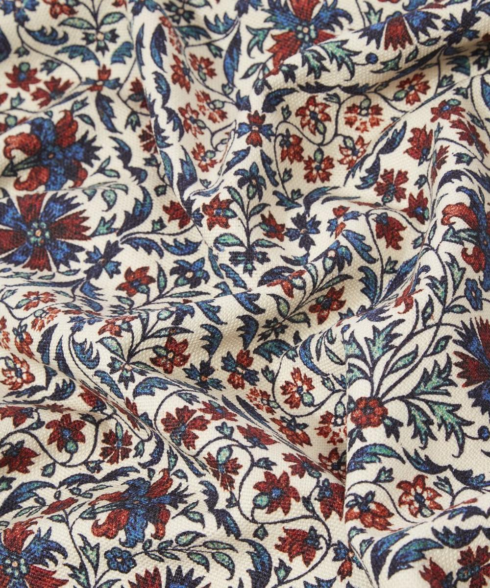 Petronella Chintz Cotton Linen in Jewel