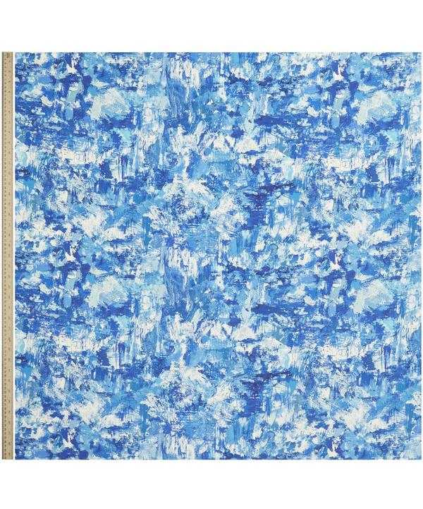 Porthmeor Beach Silk Linen Atlantic Ocean