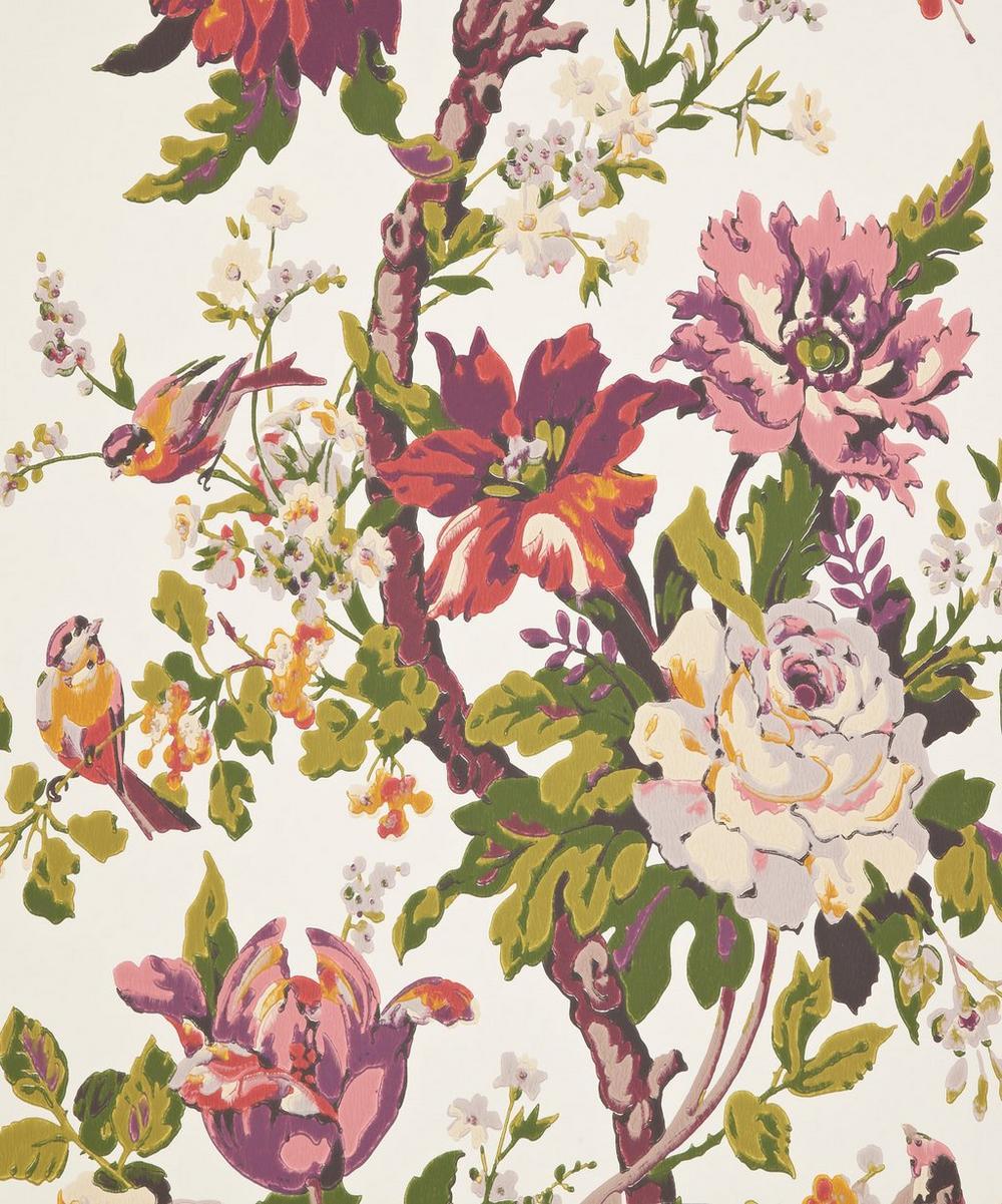 Kristina Wallpaper in Rose Symphony