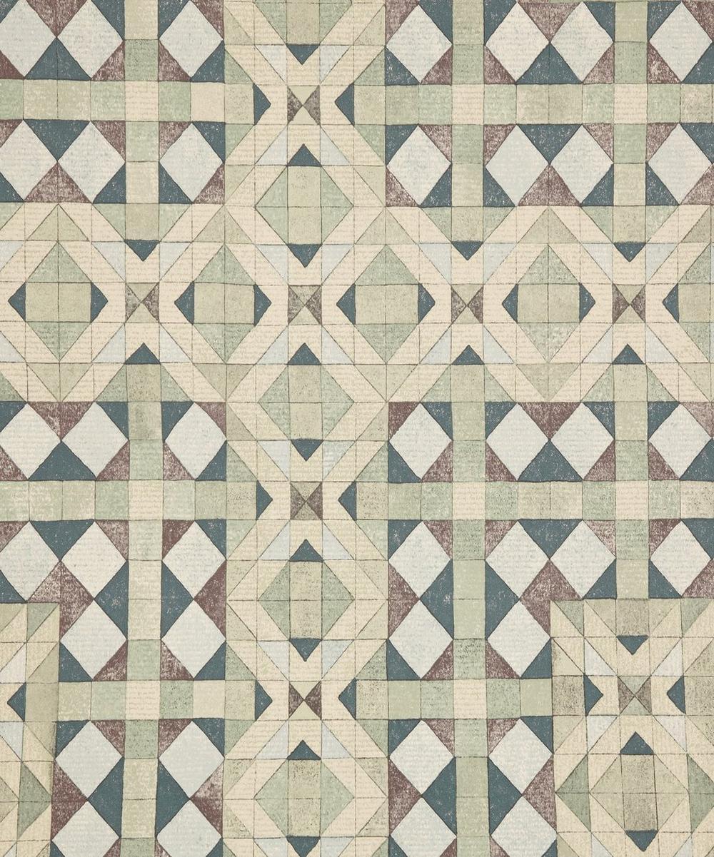 Simon Wallpaper in Monticello Green