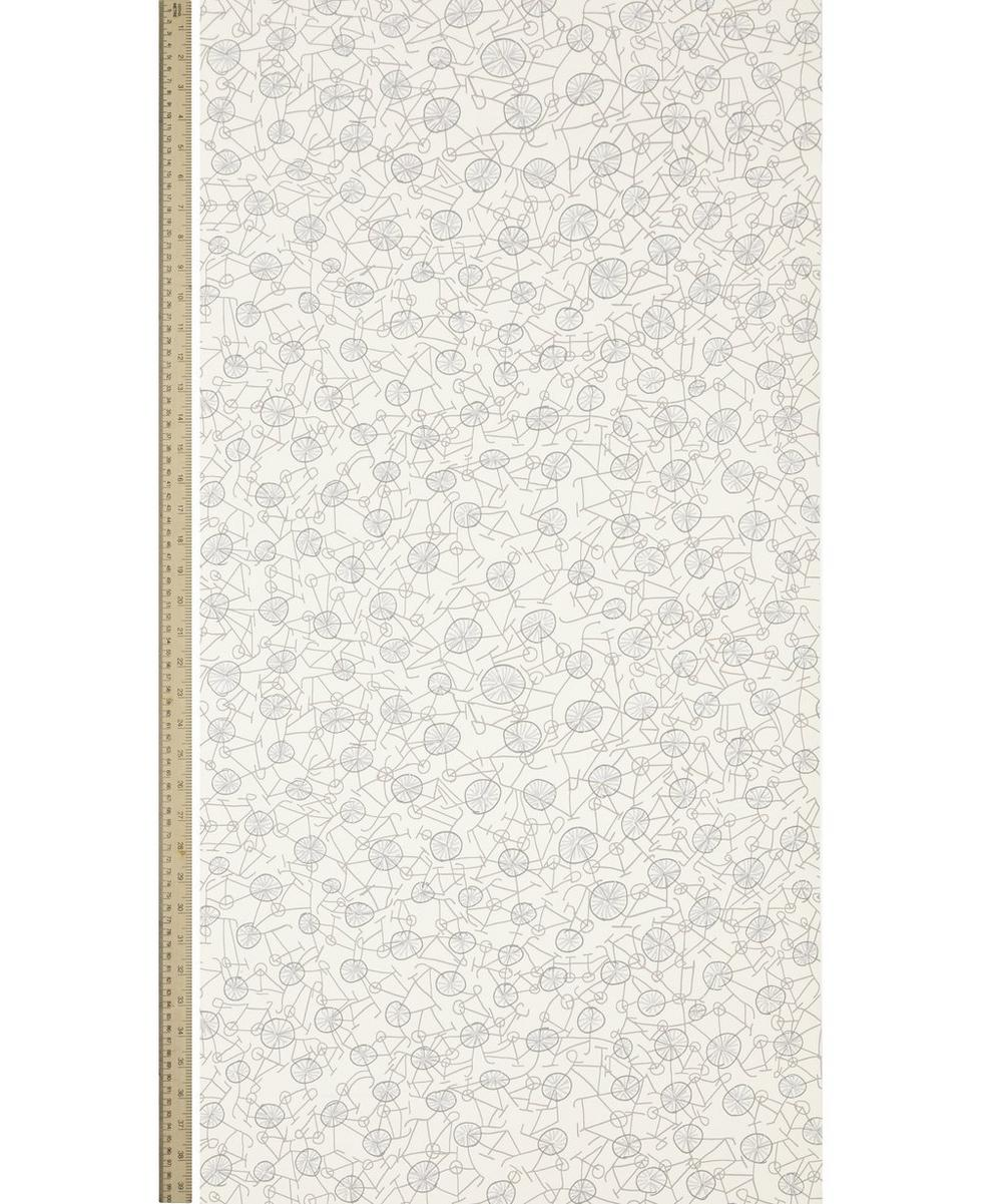 Philippa Wallpaper in White Jersey
