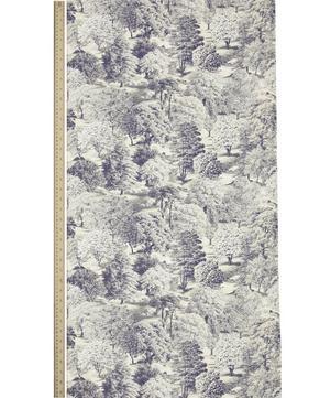 Limewood Wallpaper in Bolsover Grey