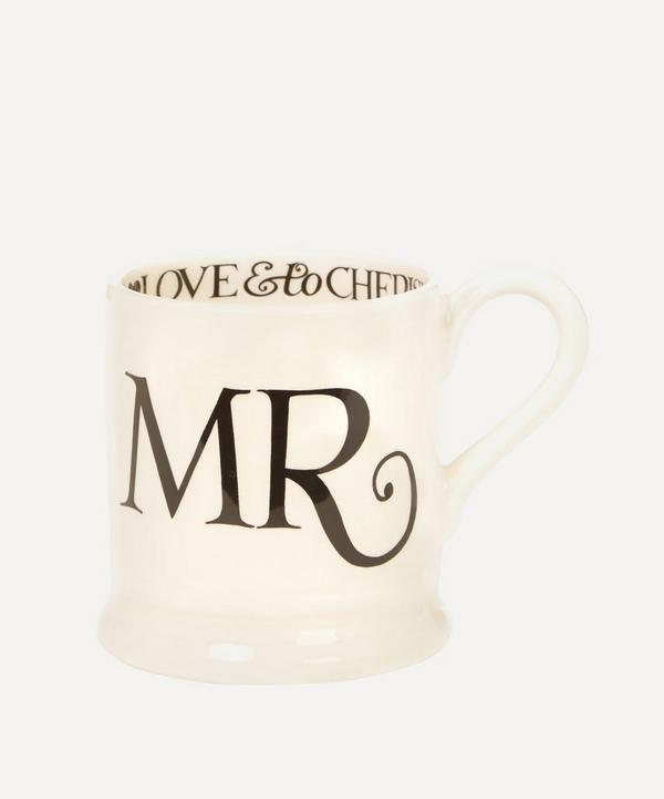 Mr And Mr Half Pint Mugs