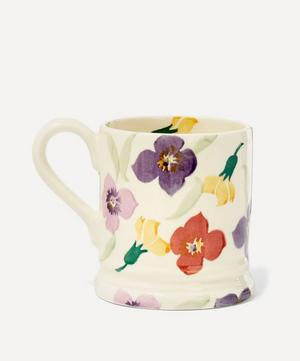 Wallflower Earthenware Half Pint Mug
