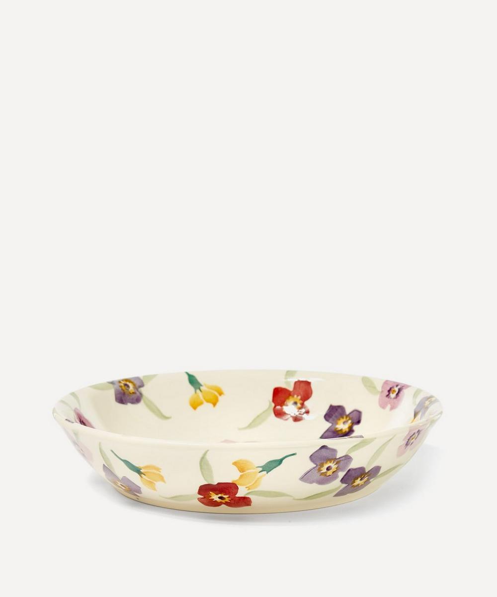 Wallflower Earthenware Pasta Bowl