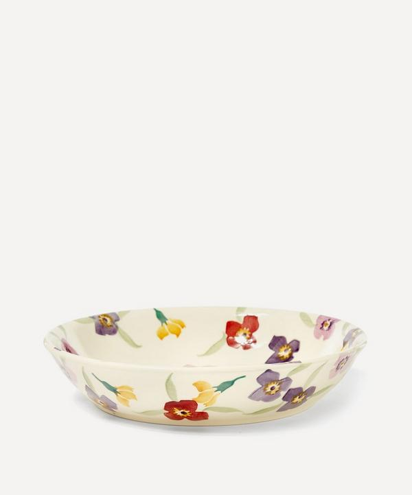 Wallflower Earthenware Pasta Bowl