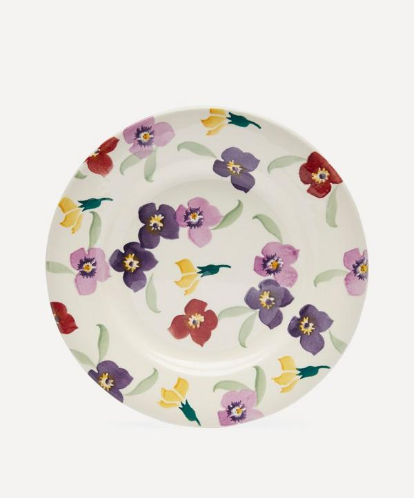 Wallflower Earthenware 8.5 Inch Plate
