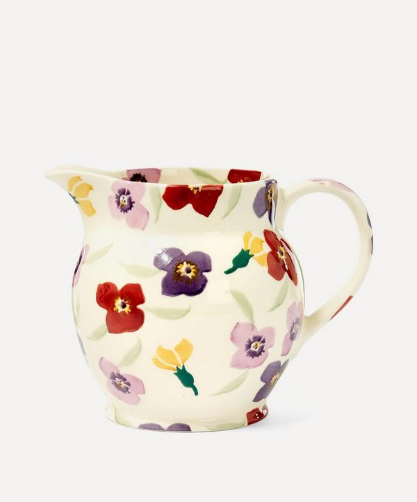 Wallflower Earthenware Jug