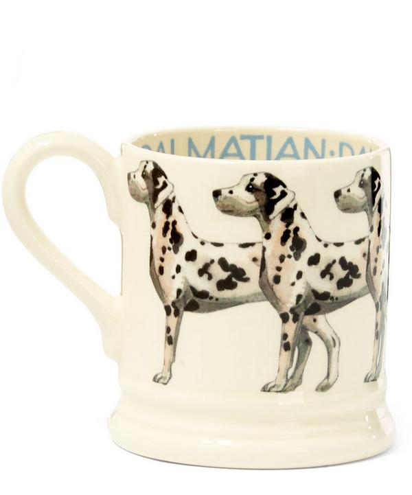 Dalmatian Earthenware Half Pint Mug