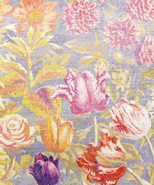 Gail's Garden in Dusk Vintage Velvet Cushion