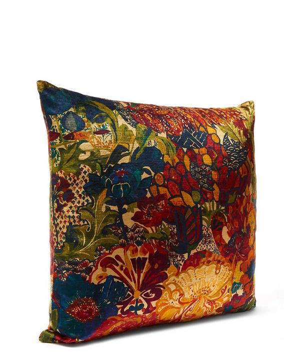 May Anniversary in Anthology Vintage Velvet Cushion
