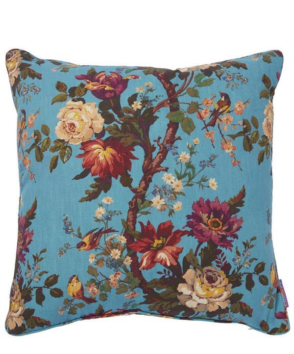 Lady Kristina in Parasol Linen Cushion