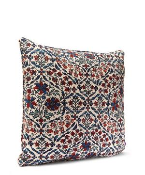 Petronella Chintz in Jewel Cotton Linen Cushion