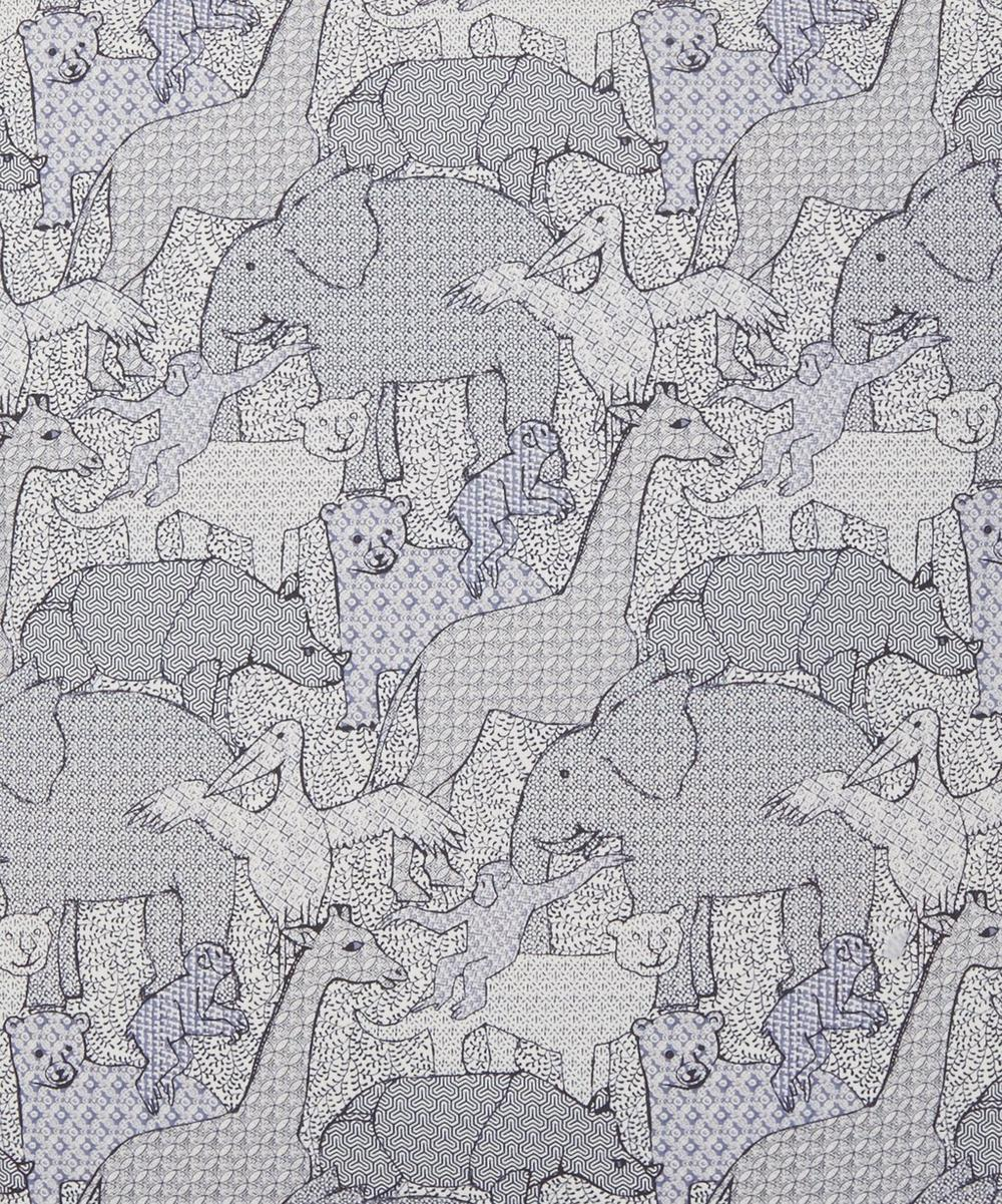 Creatures in Pelican Cotton Cushion