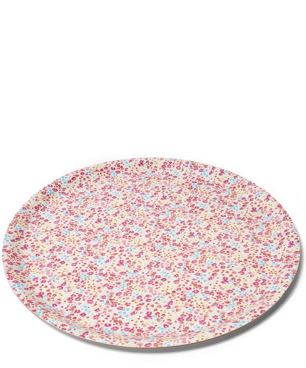Large Phoebe Liberty London Print Circular Tray