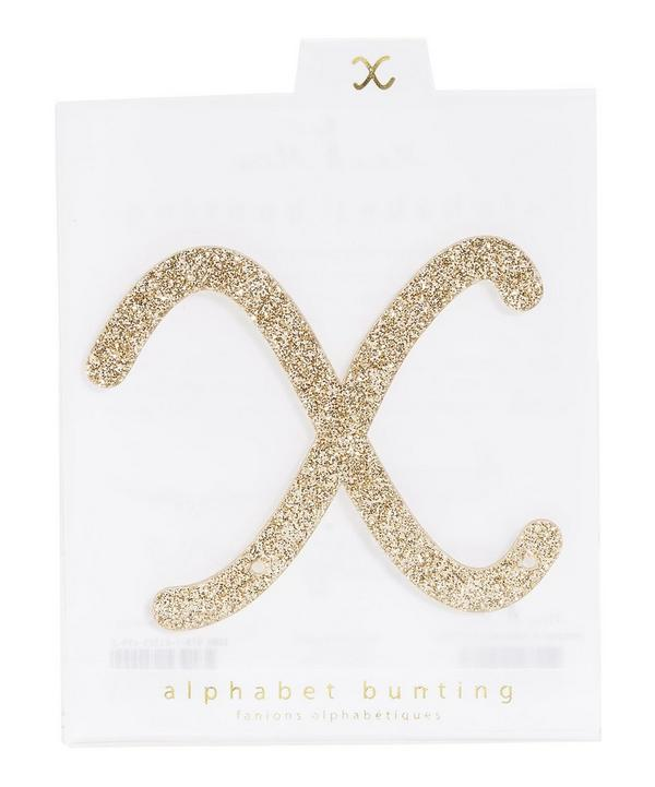 Glitter X Acrylic Bunting Letter