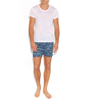 Strawberry Thief Cotton Boxer Shorts