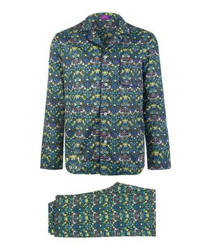 Strawberry Thief Long Cotton Pyjama Set