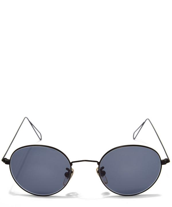 0306 Vintage Thin Wire Sunglasses