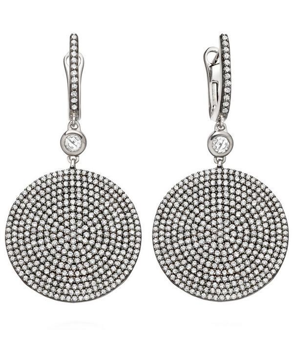 Large Icon Diamond Earrings