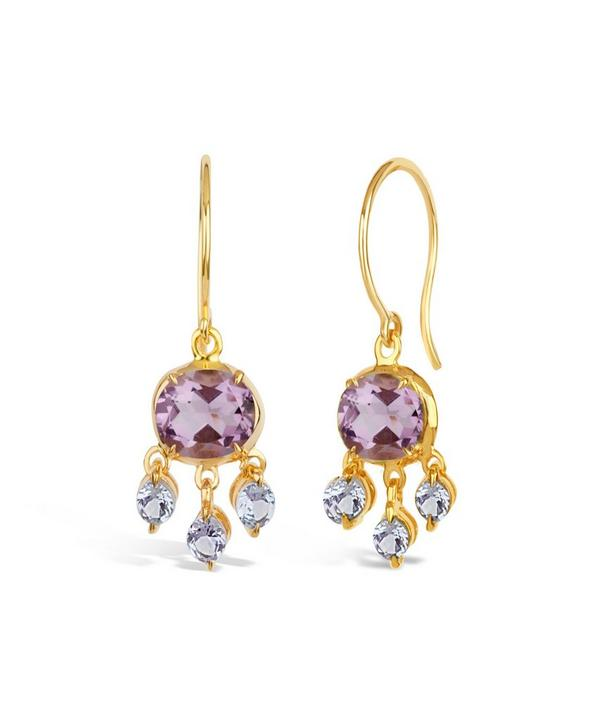 Bali Tanzanite Earrings