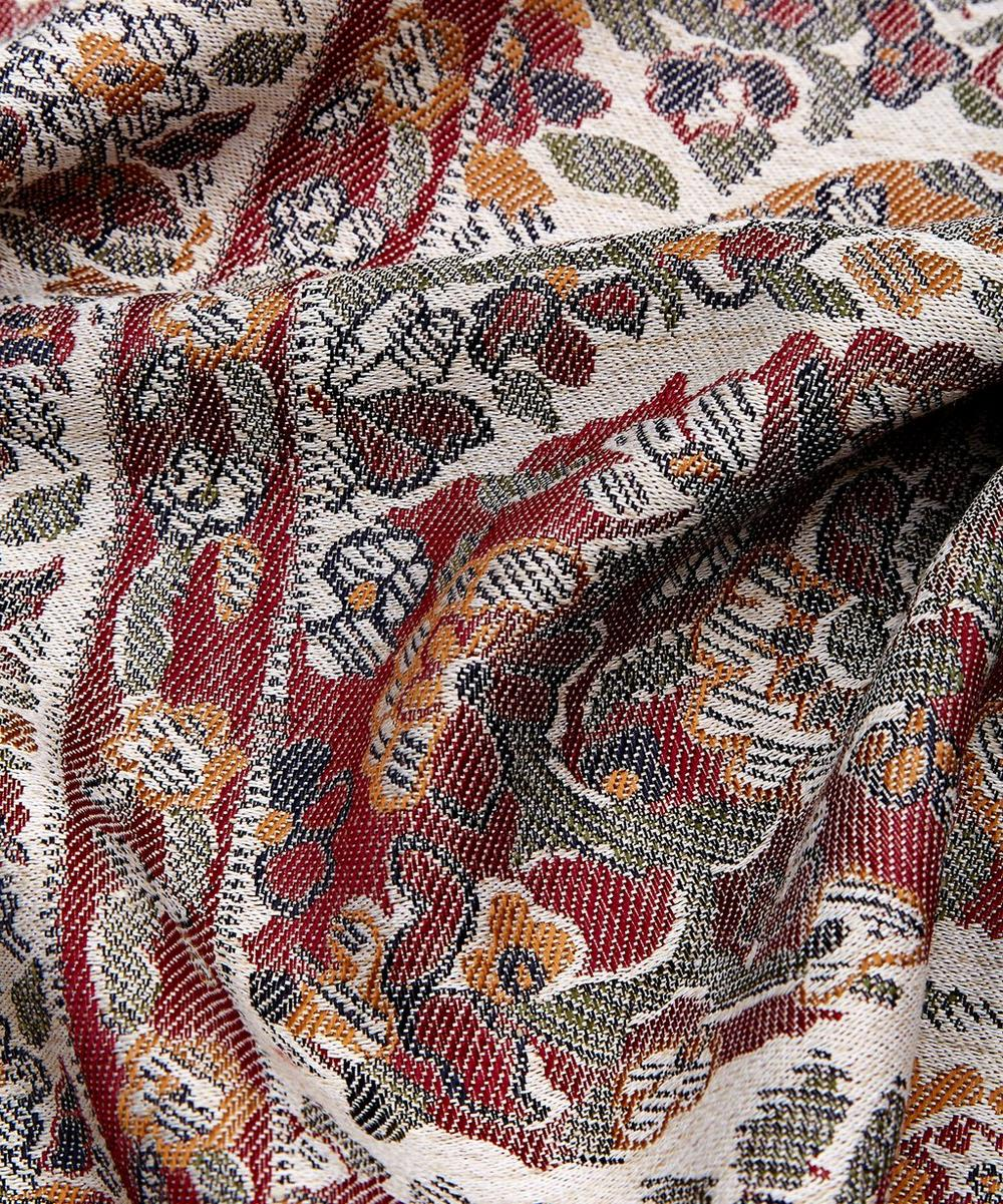Anne in Vintage Paisley Throw