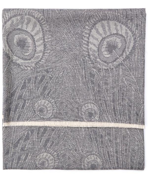 Hera in Arthur Grey Merino Wool Throw