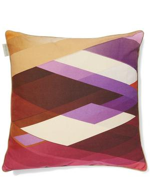 Linen Diagonal Gradient Linen Cushion