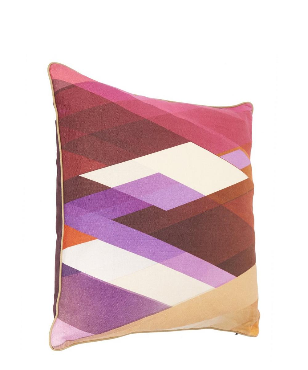 Linen Diagonal Gradient Linen Cushion