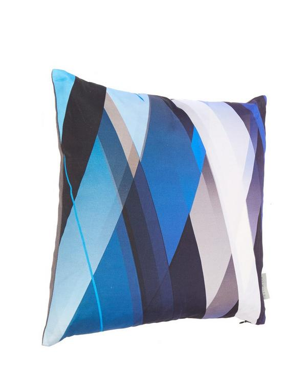 Diagonal Gradient Linen Cushion