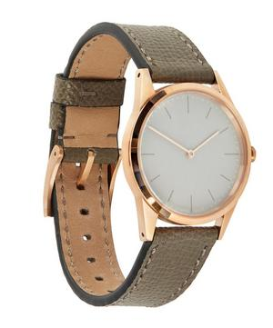 C33 PVD Rose Gold with Calf Leather Strap Watch