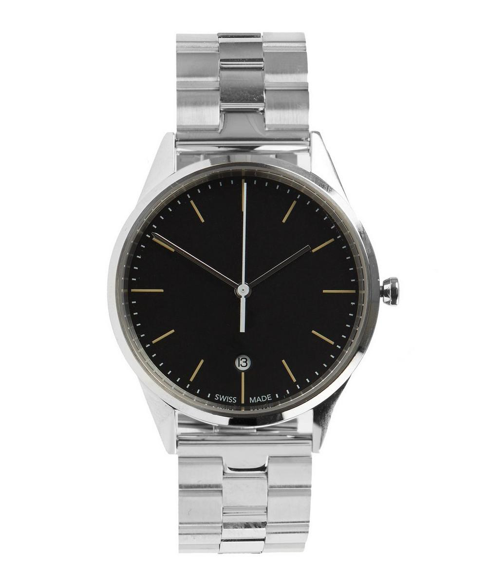 C36 Polished Steel with Polished Brushed Bracelet Watch