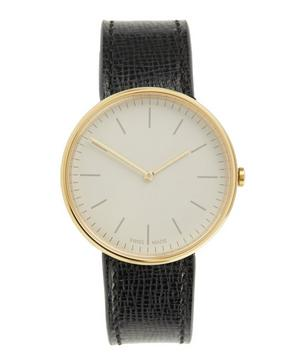 M35 PVD Gold Case with Florentine Leather Strap Watch