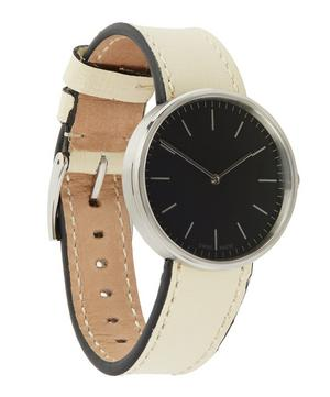 M35 Polished Steel Case with Florentine Leather Strap Watch