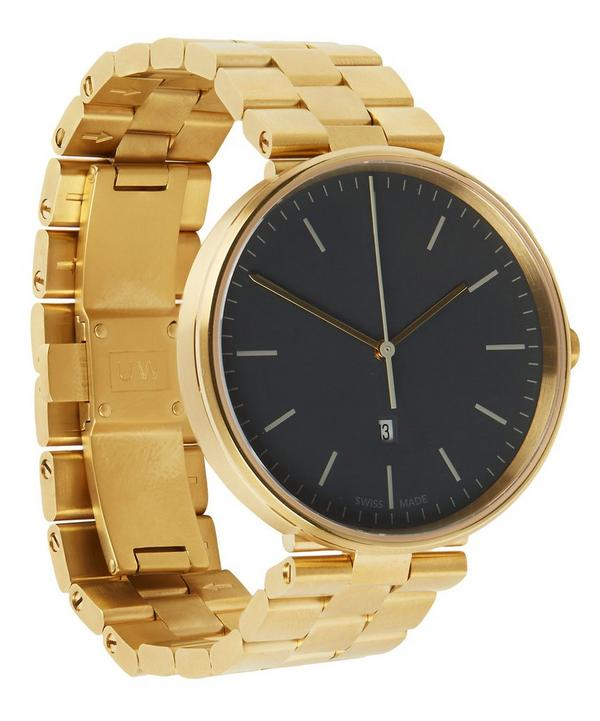 M38 PVD Gold Case and Bracelet Watch