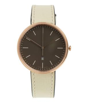 M38 PVD Rose Gold Case and Florentine Leather Strap Watch