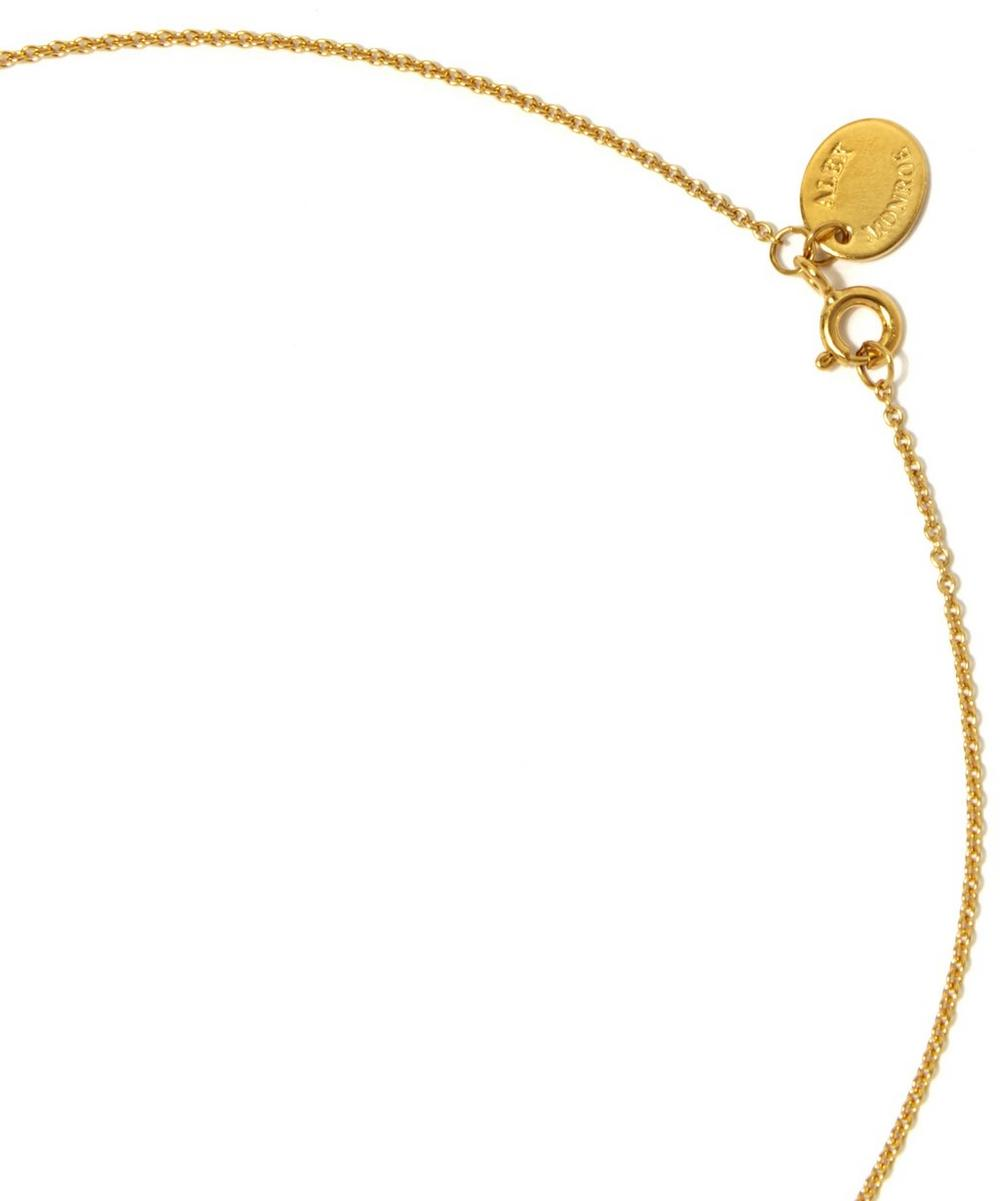 Gold-Plated Toucan Jungle Loop Necklace