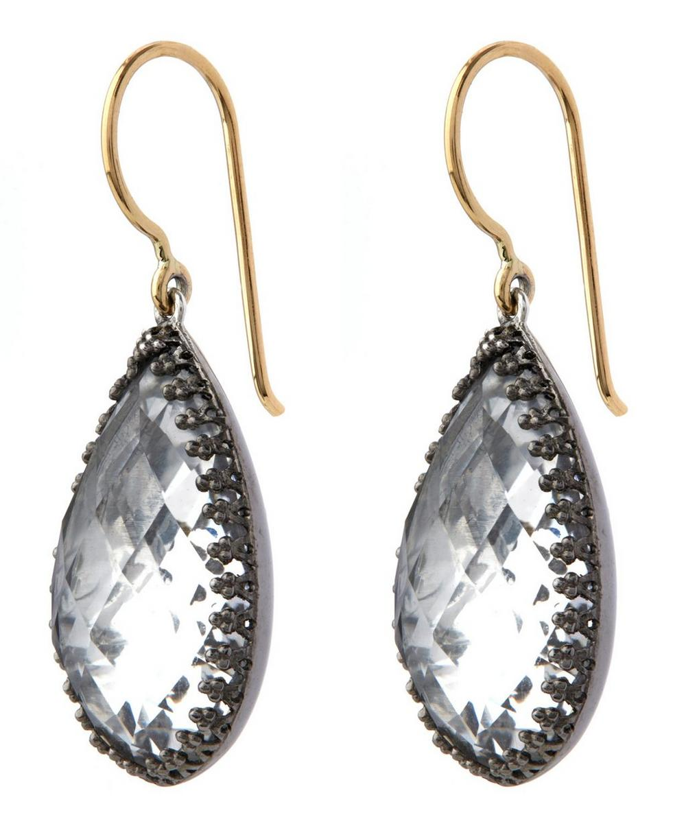 Sophia Topaz Drop Earrings