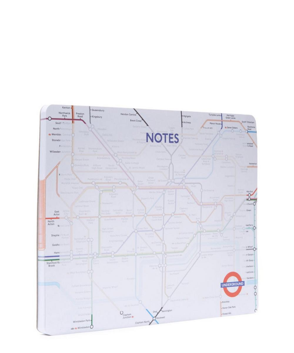 London Tube Map Tear Off Desk Pad