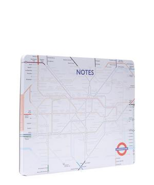 London Tube Map Tear Off Desk Pad