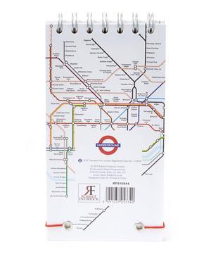 London Tube Map Wiro List Pad