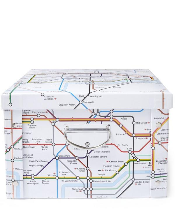 London Tube Map Storage Box