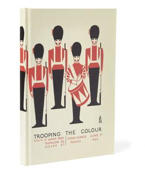 London Guards Cased A5 Notebook