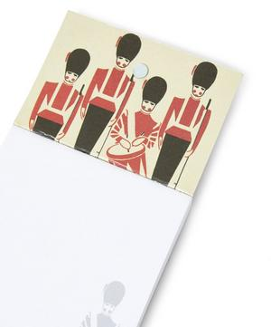 Mini London Guards Magnetic Notebook