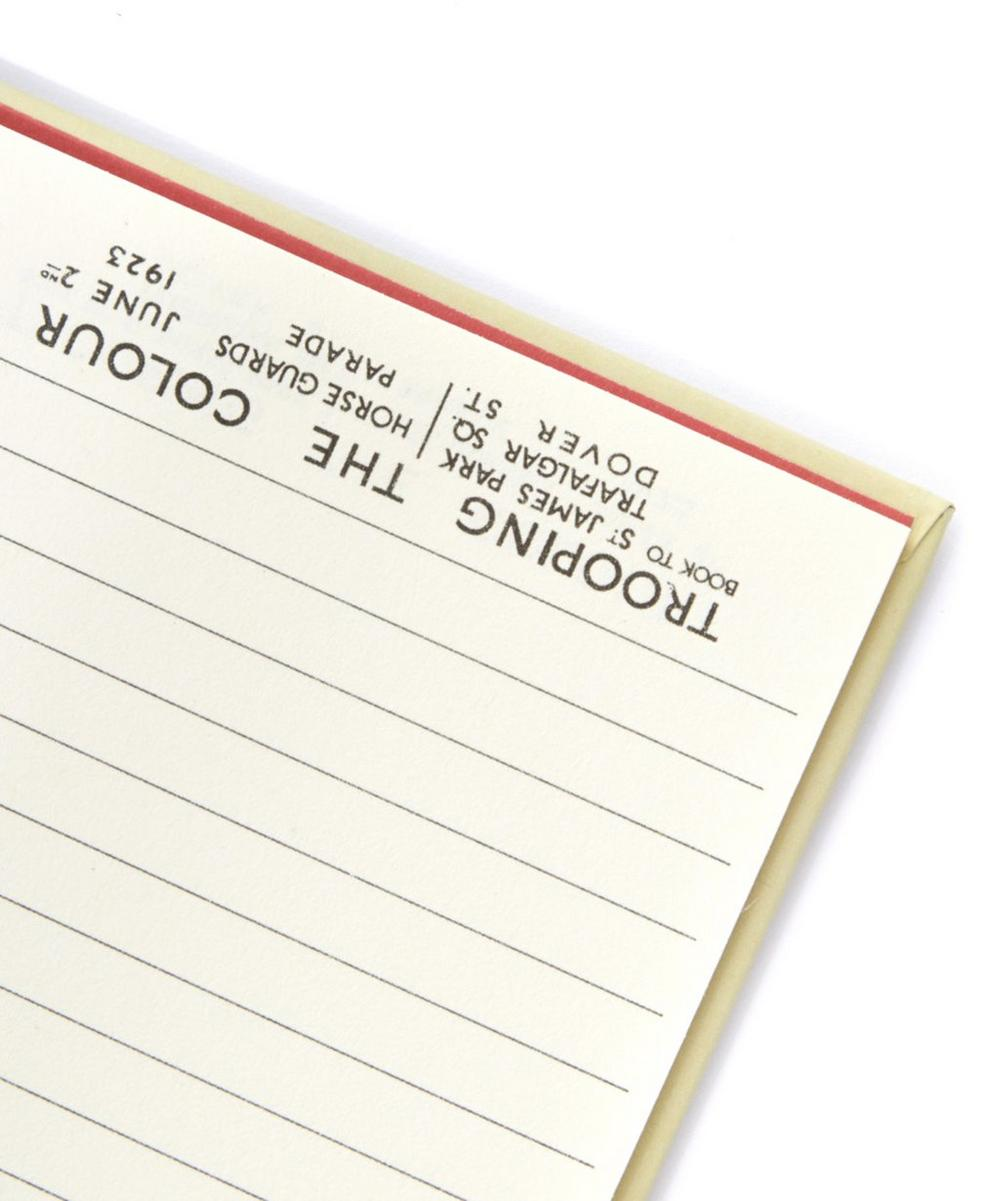 London Guards Wiro List Pad