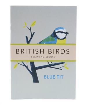 British Birds Blue Tit Notebook Set