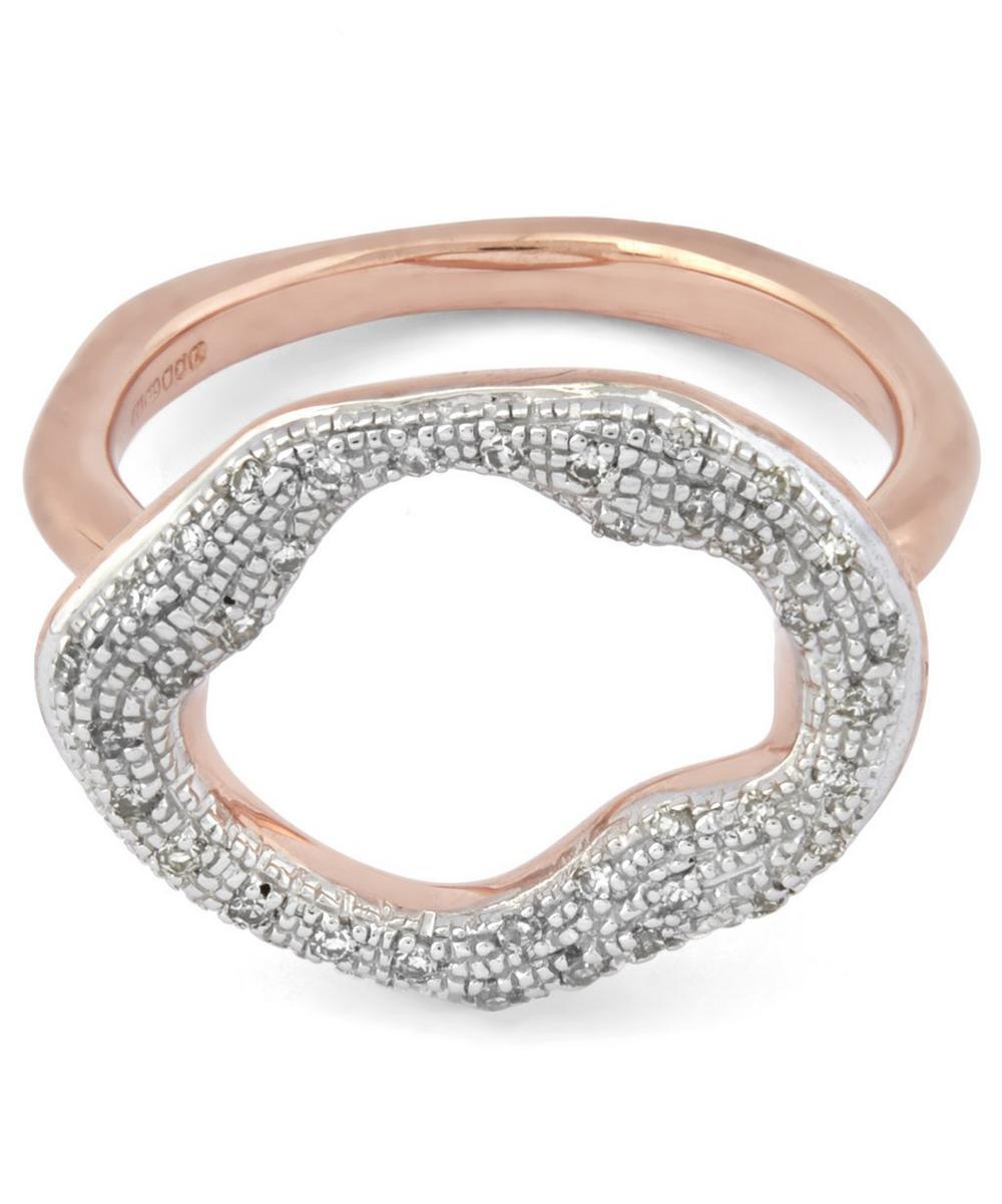 Riva Diamond Circle Ring