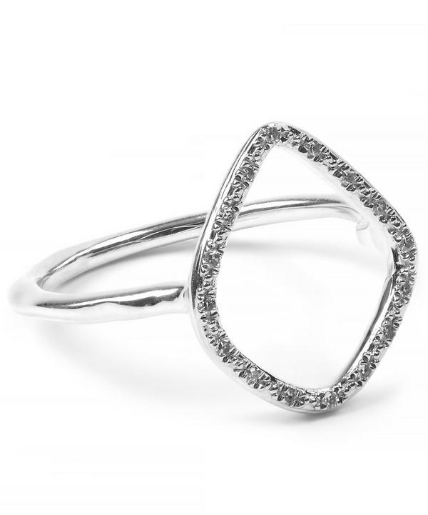 Riva Diamond Hoop Ring
