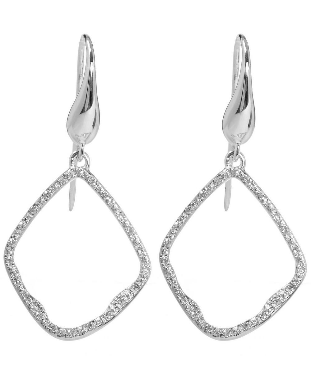 Riva Diamond Hoop Earrings